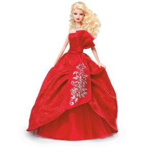 Barbie De Noel Collector's Barbie   joyful Barbie Noel 2012 W3465