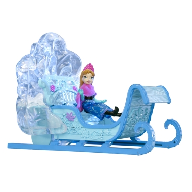 disney princess frozen snow queen anna and her sled