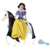 Disney princesses Snow White and her horse (novelty 2012)