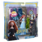 Disney princess magiclip Rebelle Coffret Merida mini doll