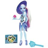 Monster High doll Abbey Bominable held beach