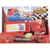 Cars 2 - Quick Changers deluxe Mack Truck of transport