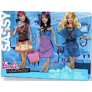 Barbie Fashionistas Sassy Clothes set