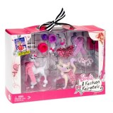 Barbie magic box animals fashion T3358