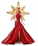 Collector's Barbie - golden Barbie Noel 2017