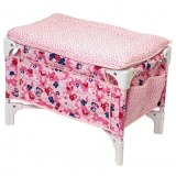 Corolle Baby cot and changing table