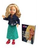 Corolle Kinra Girls doll Alexa et son Livre