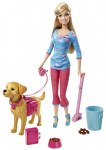 Barbie and her dog Taffy