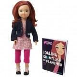Corolle Kinra Girls doll Idalina et son Livre