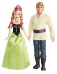 Disney Princess Snow Queen Box duo Anna and Kristoff