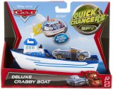 Cars 2 - Quick Changers deluxe Crabby Boat