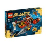 Lego Atlantis - The Torpedo boat of the Depths