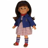 Miss Corolle coquette brown Doll Y7405