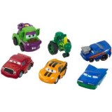 Cars - Coffret cars Body Art - Plein-Pot / Martin / Tracteur / Flash / Ramone / Chick Hicks