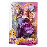 Disney Princesses rapunzel doll poses and style W5581