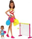 Barbie tennis coach playset DVG15