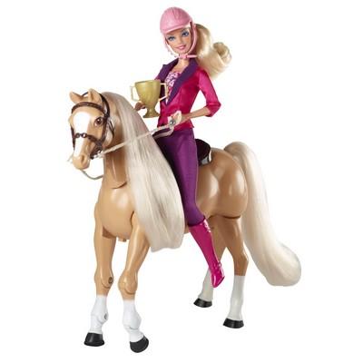 barbie cheval de dressage x2630 - Barbie Cheval