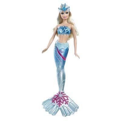 Barbie sir ne royale blonde bleu w6283 jouet de reve - Barbie barbie sirene ...