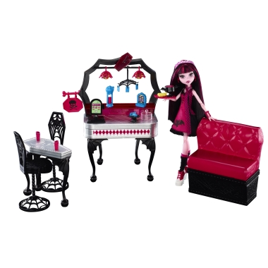 monster high mobilier v hicule jouet de reve. Black Bedroom Furniture Sets. Home Design Ideas