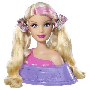 barbie t te coiffer et extensions jouet de reve. Black Bedroom Furniture Sets. Home Design Ideas