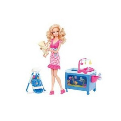 Barbie Puericultrice Jouet De Reve
