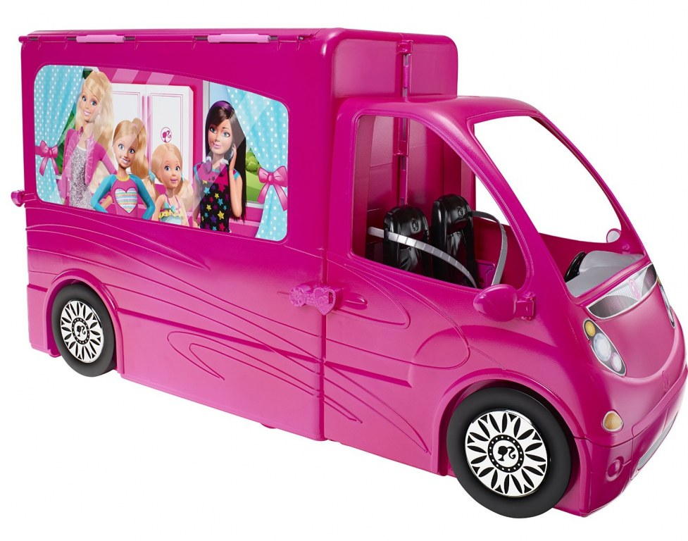 barbie camping car bjn62 jouet de reve. Black Bedroom Furniture Sets. Home Design Ideas