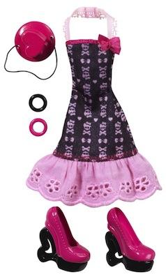 Monster high habillage tenue draculaura y0398 jouet de reve - Tenue monster high ...