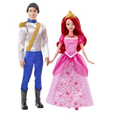 Disney princesses coffret arielle et son prince eric y0939 jouet - Jeux de ariel et son prince ...