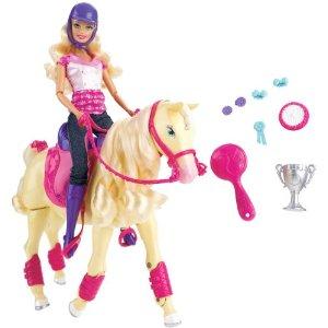 barbie cheval champion t2705 jouet de reve. Black Bedroom Furniture Sets. Home Design Ideas