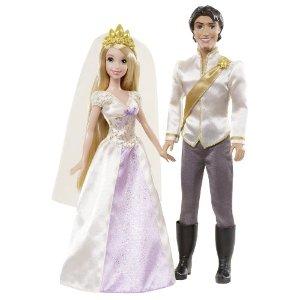 Disney princesses coffret raiponce et flynn mari s - Raiponce et son prince ...