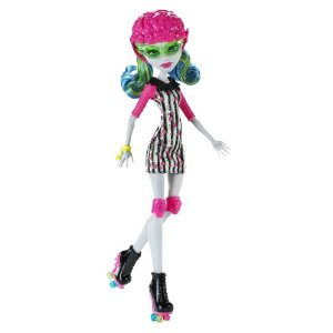 Monster high poup e ghoulia yelps sport roller x3675 jouet - Jeux monster high roller ...