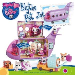 littlest pet shop l 39 avion de blythe jouet de reve. Black Bedroom Furniture Sets. Home Design Ideas