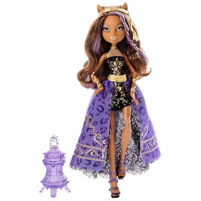 Monster high 13 souhaits poup e clawdeen wolf y7705 jouet - Poupee monster high 13 souhaits ...