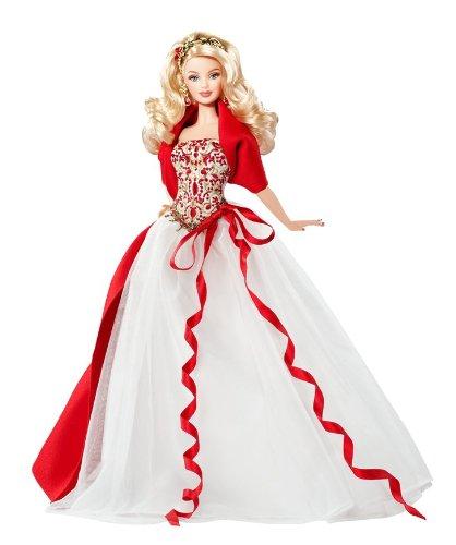 barbie noel 2010 Barbie collector   Barbie soir de Noel 2010 Jouet de reve barbie noel 2010