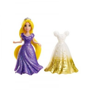 Disney princesses magiclip mini raiponce et sa tenue
