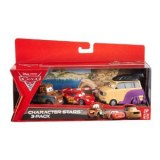 Cars 2 - Coffret 3 Vehicules : Kingpin Nobunaga, Martin, Flash McQueen