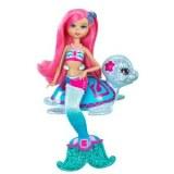 Barbie et le secret des sirènes Mini poupée fée et sa tortue W2887