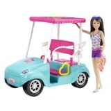 Barbie voiture - Voiturette de Golf