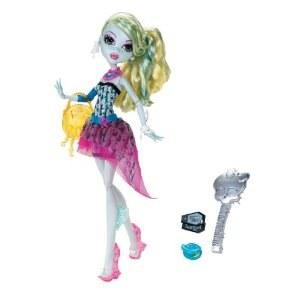 Poupée Monster High showbiz Lagoona blue Party X4530
