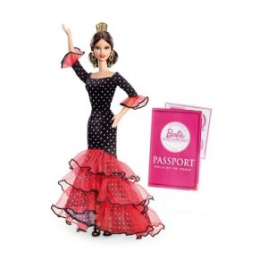 Barbie du monde espagne X8421
