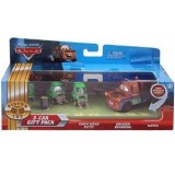 Cars - Coffret 3 Vehicules : Chick Hicks Pitty, Bruiser Bukowski, Mater