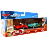 Cars - Coffret 3 Vehicules : Waitress Mia & Waitress Tia & Flo With Tray