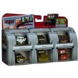 Cars - Coffret cars Camp Militaire - Bully / Sergent / Flash / Sheriff / Mack / Martin