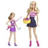 Barbie et ses soeurs - Barbie en Stacie partent à la pêche V4396