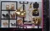 Barbie collection basic vêtements accessoires Customisation Thème or
