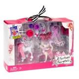Barbie coffret animaux magie de la mode T3358
