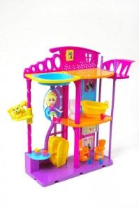 Polly Pocket La maison de Polly