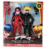 Miraculous coffret 2 poupées Ladybug et Chat Noir