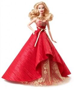 Barbie collector - Barbie joyeux Noel 2014