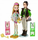 Ever After High Coffret Duo Ashlynn Ella et Hunter Huntsman